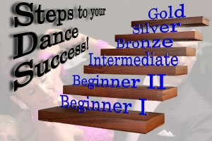 "Beginner I starts you off on the ""steps to dance success!"""