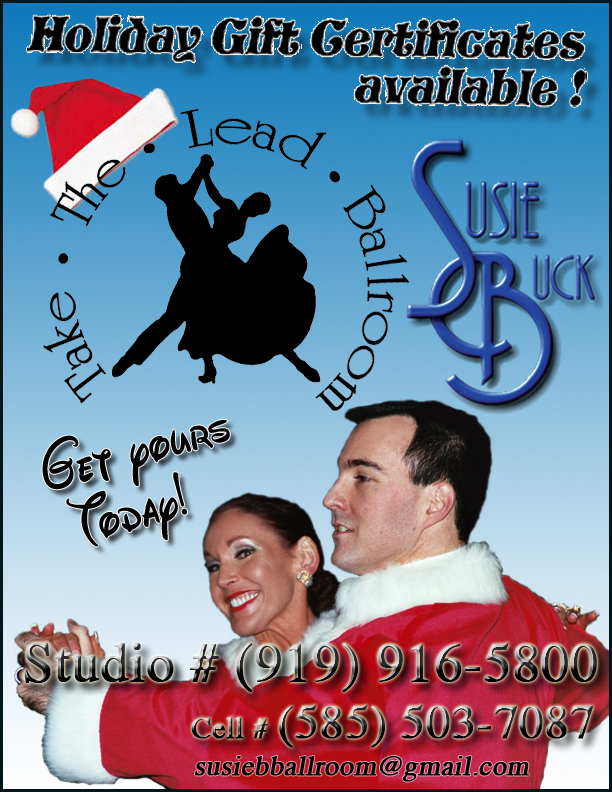 Susie Christmas Holiday flyer