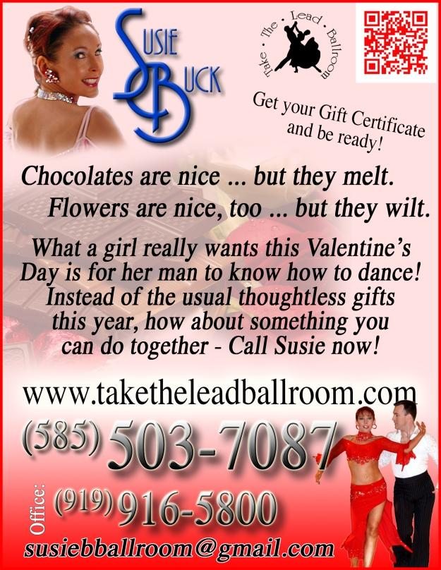Susie Valentine flyer