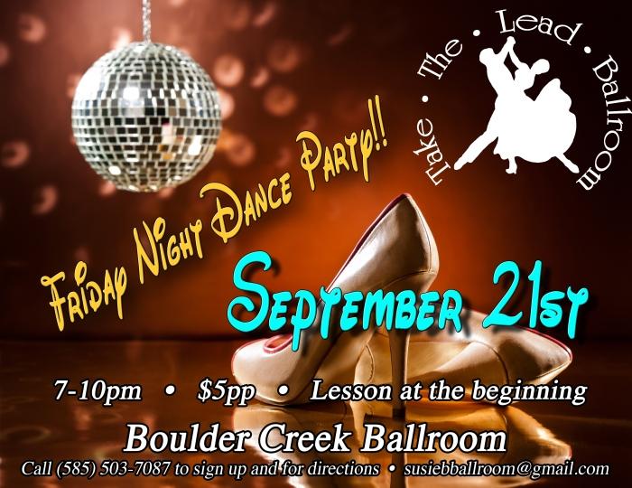 21sr Dance party Flyer