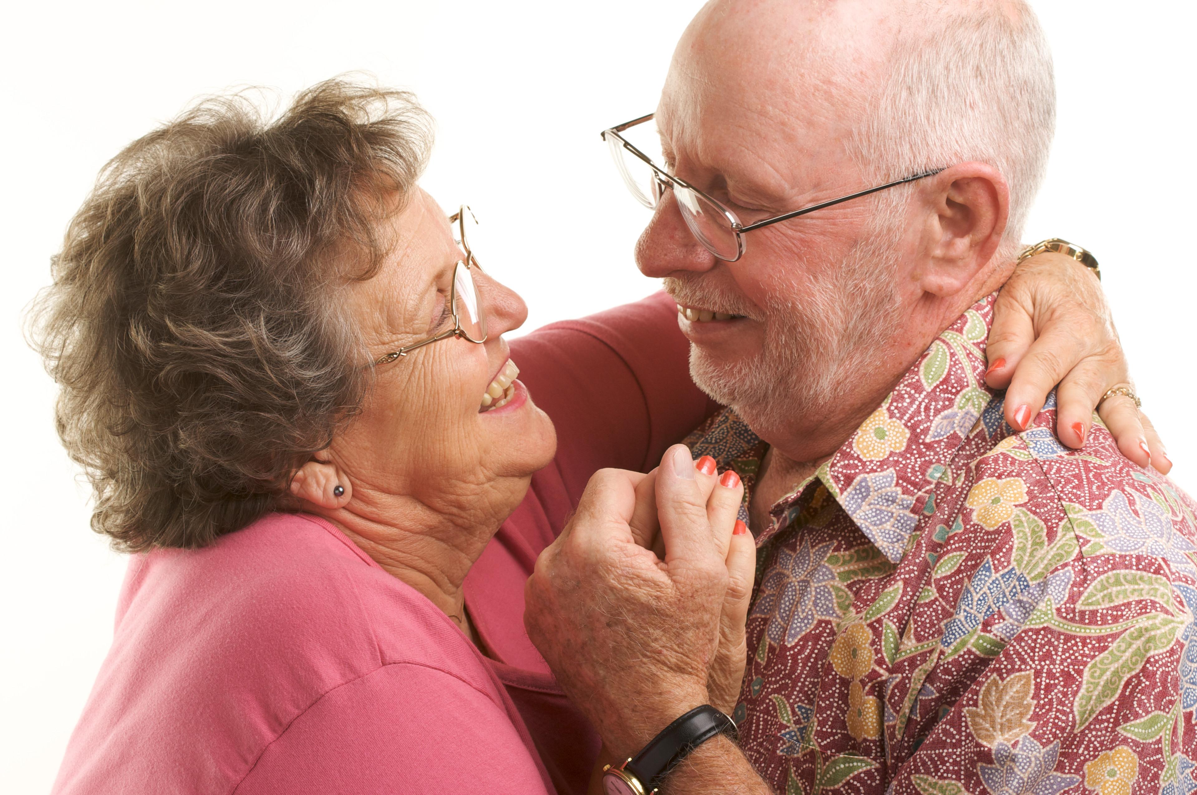Senior Ballroom Couple
