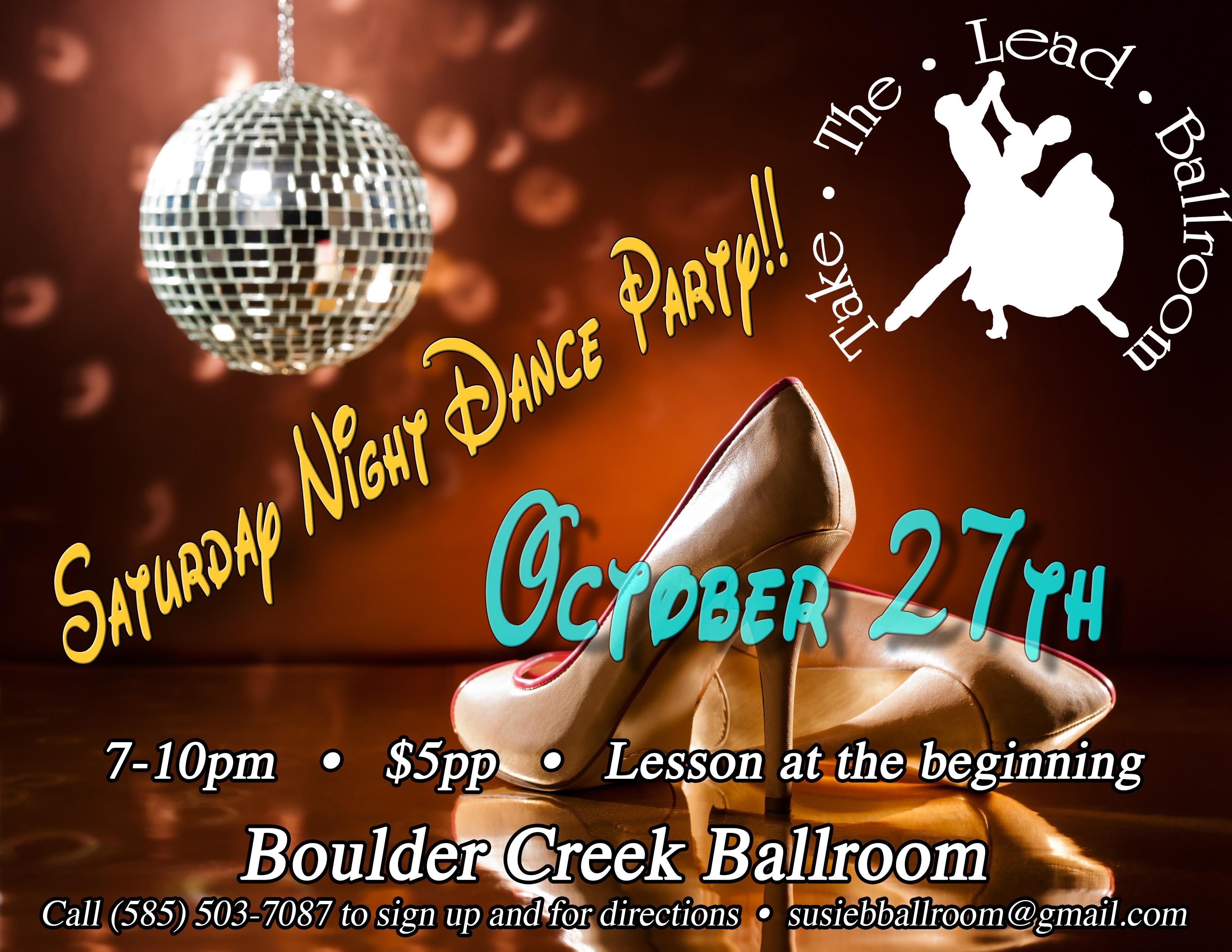 Dance party Flyer Sat