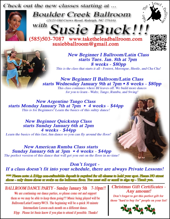 January class flyer16