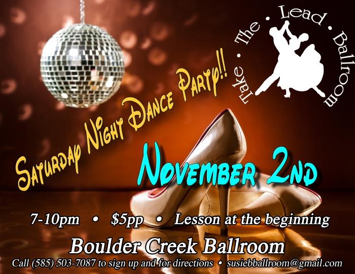 Dance party Flyer November copy